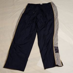 Nike exercise blue gray pant men size XL